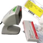 Støjfri stregkodelæser til patientregistrering
