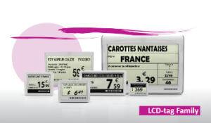 LCD skilte
