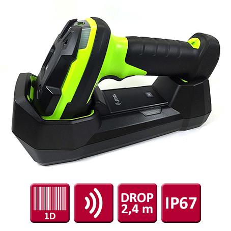 """Zebra LI3678 (1D) """"Ultrarobust"""", Trådløs USB-kit"""