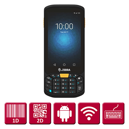 Zebra TC20K (keyboard) Android 7 (WiFi) M/ SE4710