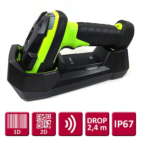 "Zebra DS3678 (2D) ""Ultrarobust"", Trådløs USB-kit"
