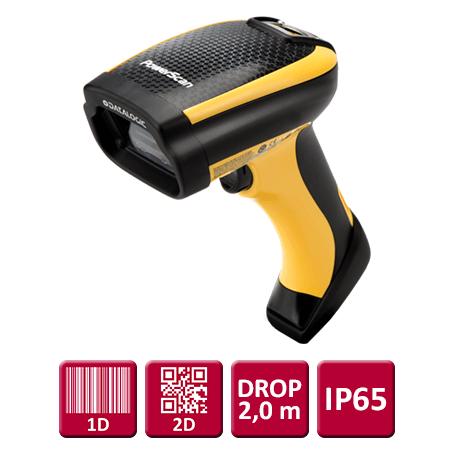 """Datalogic PM9530 (2D) """"Industrial"""" – Trådløs Scanner, Kit M/ USB Kabel"""