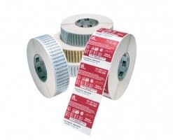 Label – Direkte Termo, Premium, Labels På Rulle, Termopapir, Kasse M/ 10 Ruller – (BxH) 51x25mm