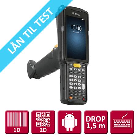 """Zebra MC3300 M/ Pistolgreb, 2D ER (SE4850-ERI 1D/2D), NFC, 38 Taster """"Premium"""""""