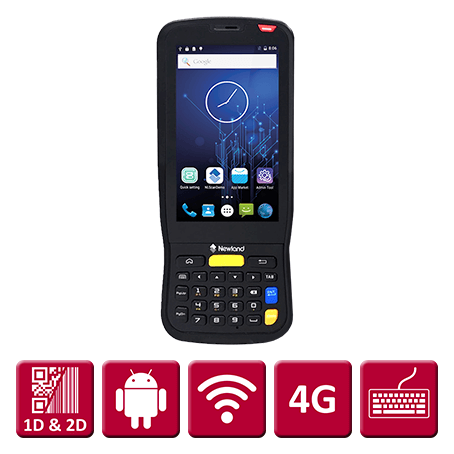 Newland MT65-III Android 7, 2D Scanner
