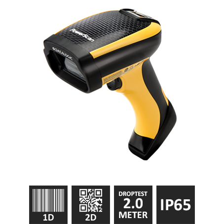 "Datalogic PM9530 (2D) ""Industrial"" – Trådløs Scanner, Kit M/ USB Kabel"