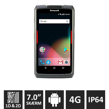 Honeywell EDA70 Android 7, 2D, WiFi + 4G/LTE
