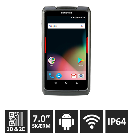 Honeywell EDA70 Android 7, 2D, WiFi