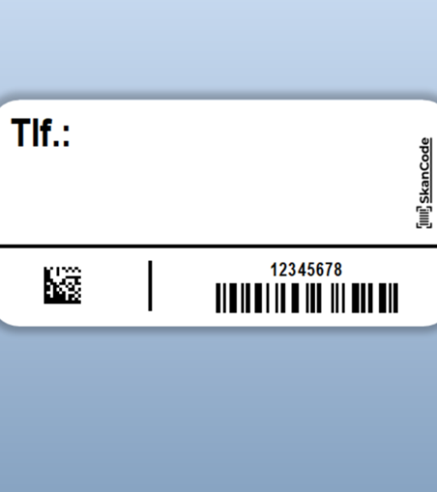 Labels Til Covid-19 Selvpodning – Rulle M/ 1.000 St